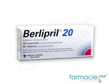 cumpără Berlipril comp. 20mg N30 (Enalapril) în Chișinău