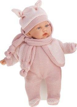 Кукла с шарфиком 27 см Код 1226