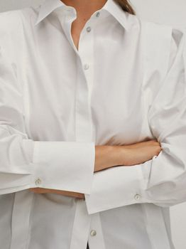Блуза Massimo Dutti Белый 5150/548/250