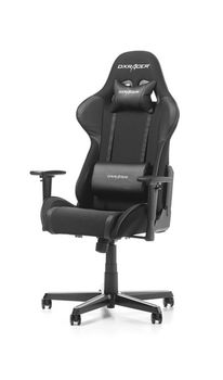 Gaming Chairs DXRacer - Formula GC-F11-N-H1, Black/Black/Black - Fabric & PU, Gamer weight up to 100kg / growth 145-180cm, Foam Density 52kg/m3, 5-star Aluminum IC Base, Gas Lift 4 Class, Recline 90*-135*, Armrests: 3D, Pillow-2, Caster-2*PU, W-23kg