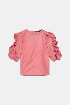 Блуза ZARA Коралловый 1971/032/679