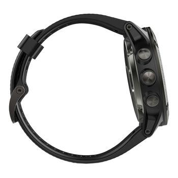 купить Часы Garmin Fenix 5X Sapphire - Slate grey with black band, 010-01733-01 в Кишинёве