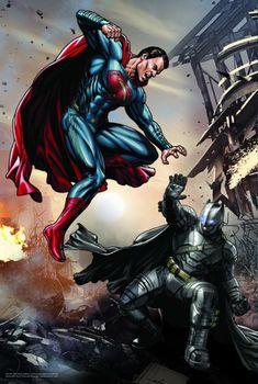"""13201 Trefl Puzzles-""""260"""" - Batman v Superman/Dawn of Justice"""
