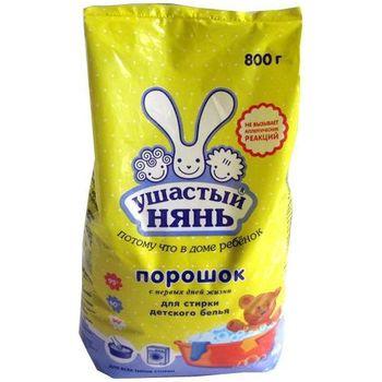 купить Ушастый Нянь стиральный порошок универсальный, 800 г в Кишинёве