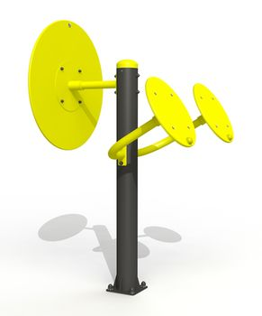 купить Тренажер мышц плечевого пояса комбинированный PTP 529 в Кишинёве