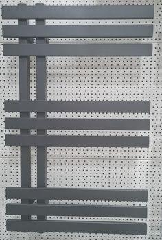 Полотенцесушитель Aerfild Elche 500x800 мм, антрацит