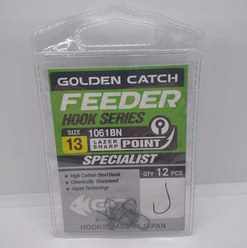 Крючки Golden Catch Feeder Nr13, 12шт