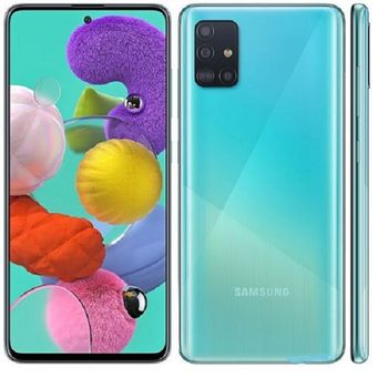 купить Samsung Galaxy A71  6/128Gb Duos (SM-A715),Blue в Кишинёве