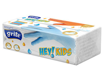GRITE - Салфетки бумажные HEY! KIDS 120 buc