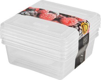 Set caserole congelator 3 pc  0.5 L