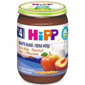 cumpără Hipp piure Good Night griș, măr și piersic, 4+ luni, 190 g în Chișinău