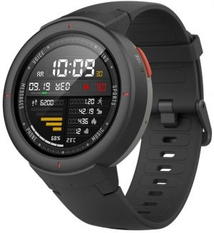 "Xiaomi ""Amazfit Verge"" Grey, 1.30"" Amoled Display, GPS, Heart Rate, Steps, Calories, Sleeping Quality Tracking, Smart Alarm, Distance Display, Average Daily Steps, Time, Weather, Accept incoming calls, Notifications, Operating time 5days, IP67"