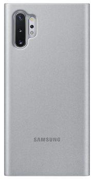 купить Чехол для моб.устройства Samsung Galaxy Note 10 ,EF-ZN970 Clear View Cover Silver в Кишинёве