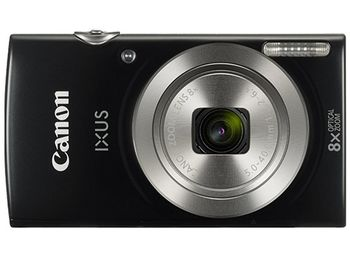 "DC Canon IXUS 185 Black, 20.0Mpix, CCD 1/2.3"", Zoom 8x (28-224mm), f/3.2–6.9, Digic 4+, Size(L) 5152x3864, Movies HD 1280x720-25fps (Length-up to 4GB or 30min), max ISO:1600, Shutter 1/2000sec, scr.2.7"", SDHC,USB,HDMI Mini A/V out, NB-11LH, W126g"