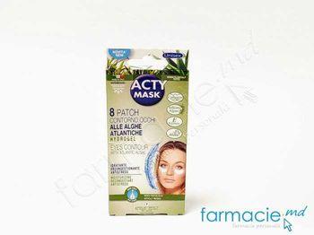 купить Acty Mask Emplastru pt ochi hidratanta cu efect iluminator cu Praf natural de perla N 8 (005061) в Кишинёве
