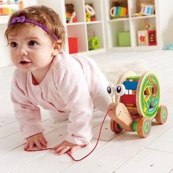 купить Hape Деревянная игрушка Улитка в Кишинёве