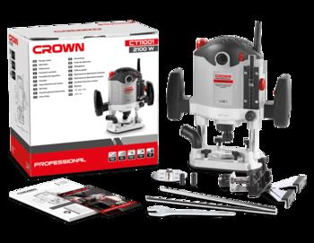 купить Фрезерная машина 2100W Crown CT11001 в Кишинёве