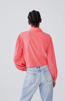 Блуза ZARA Коралловый 3067/105/630