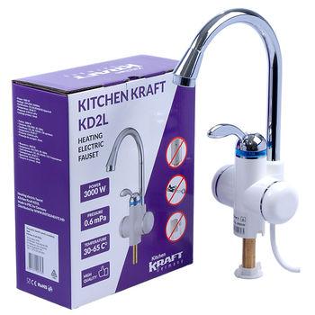 Электрический кран Kitchen Kraft KD2L
