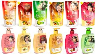 cumpără Gel-sapun lichid  ШИК Nectar 300ml fruct de maracuya si afine,feyhoa si lime,pepene galben si caisa,Lychees si pitahaya,papaya si mango,piersica si karamboli în Chișinău