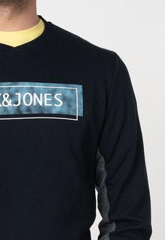 Трикотаж JACK&JONES Темно синий 12172555