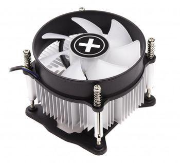 "XILENCE Cooler XC136  Performance C Series ""I250PWM.TBL"", Socket 1150/1151 up to 95W, Blue LED fan, 92x92x25mm, 800~2500rpm, 17.6-26.4dBA, 42.7CFM, 4pins, PWM, Screw&Back Plate inst., Aluminium Heatsink, Bulk (45pcs/box)"