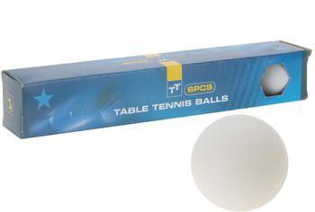 Набор шаров для настольного тенниса, 6шт