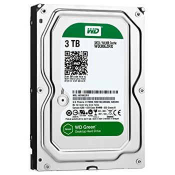 "HDD 3.5"" Western Digital 3TB WD30EZRX Caviar® Green™, IntelliPower, 64Mb, SATA3"