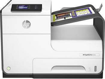 HP PageWide Pro 452dw Printer, up to 40 ppm, 2400 x 1200dpi, 512MB RAM, up to 50000 pages, USB 2.0 Host, USB 2.0 device, Ethernet, WiFi b/g/n, HP ePrint, Apple AirPrint™, Automatic Duplex, HP PCLXL(PCL6), Poscript Level3 (973XL B/C/M/Y ink cart.)