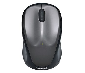 Mouse Logitech Wireless M235 Grey, Optical Mouse, Nano receiver, Black/Grey, Retail
