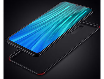 370017 Husa Screen Geeks Solid Xiaomi Redmi Note 8 Pro, Black (чехол накладка в асортименте для смартфонов Xiaomi)