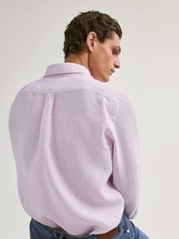 Рубашка Massimo Dutti Розовый 0144/144/902