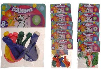 cumpără Set de baloane 8buc, diverse culori în Chișinău