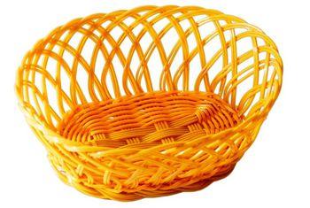 Хлебница плетеная овальная малая 20X15cm