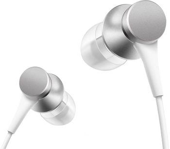 Наушники Xiaomi Mi In-Ear Headphones Basic, Silver