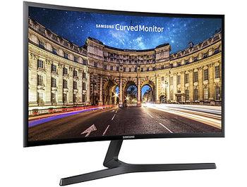 """Монитор 27"""" TFT VA LED Curved Samsung C27F396FHI Black Super Slim Bezel, WIDE 16:9, 4ms, 3000:1, H:30-83kHz, 56-75Hz,1920x1080 Full HD, HDMI, D-Sub, TCO03 (monitor/монитор), www"""