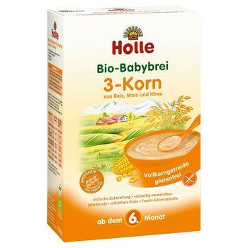 Каша из трех злаков с 6 месяцев Holle Organic, 250 г