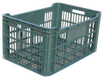 cumpără Ladă din plastic А114, 600x400x300 mm, verde în Chișinău