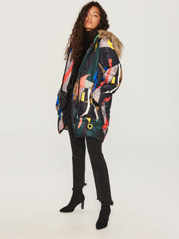 Куртка RESERVED Цветной принт reserved tx871-mlc