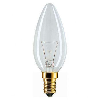 купить Лампа накалив.PANLIGHT cвеча прозрачная 60W 240V E14 (31657) в Кишинёве