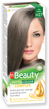 Краска для волос,SOLVEX MM Beauty, 125 мл., M27 - Русый пепельный