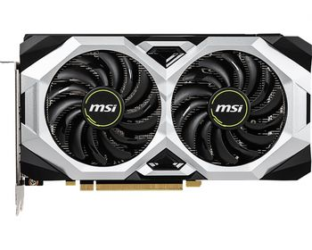 MSI GeForce RTX 2060 VENTUS 6G OC /  6GB DDR6 192Bit 1710/14000Mhz, 1x HDMI, 3x DisplayPort, Dual fan - Customized Design, TORX Fan2.0, Gaming App, Retail