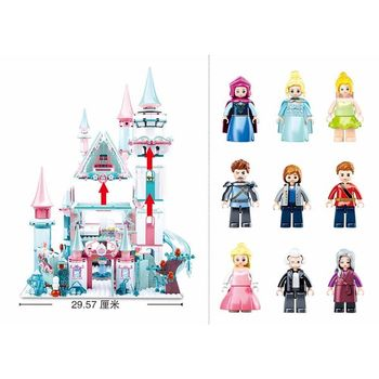 купить КОНСТРУКТОР Girls Dream — Fairy Tale of Winter в Кишинёве