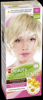 Краска для волос,SOLVEX MM Beauty Sense, 125 мл., S20 - Ледяной блонд