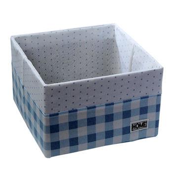 купить Коробка 260x260x170 мм, голубой в Кишинёве