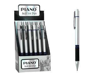 Ручка шариковая PT-186 soft ink,0.7mm, синяя