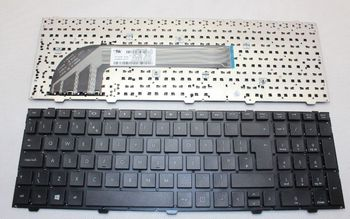 "Keyboard HP ProBook 4540s 4545s 4740s 4745s w/o frame ""ENTER""-Big ENG. Black"