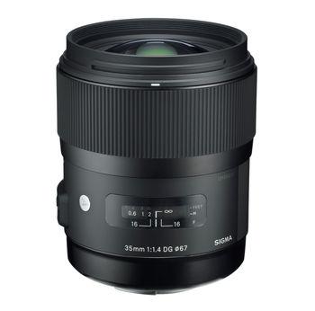 купить Prime Lens Sigma AF  35mm f/1.4 DG HSM ART F/Nik в Кишинёве