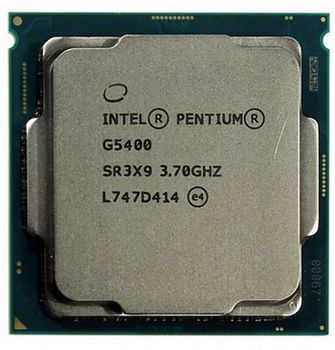 Intel® Pentium® Gold G5400, S1151, 3.7GHz (2C/4T), 4MB Cache, Intel® UHD Graphics 610, 14nm 54W, tray