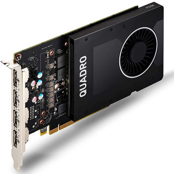 PNY NVIDIA Quadro P2200 5GB GDDR5, 160-bit, PCI Express 3.0 x16, 4xDisplay Port 1.4 (VCQP2200-PB)